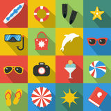 Summer. Beach. Sun.Travel. Summer. Beach. Sun.Vector illustration Stock Photography
