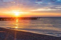 Summer beach sunrise Royalty Free Stock Photo