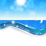 Summer Beach Sunshine Stock Images