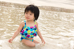 Summer beach time Royalty Free Stock Image