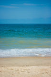 Summer beach view Royalty Free Stock Images