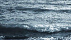 Summer Beach Waves blue video stock video