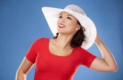 Summer beach woman Stock Photo