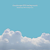 Summer beautiful cloudscape. Royalty Free Stock Images