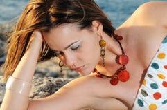Summer beauty royalty free stock image