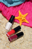 Summer beauty accessorises Royalty Free Stock Photos