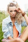 Summer Beauty Girl Royalty Free Stock Photo