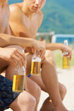 Summer and beer Royalty Free Stock Image