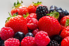 Summer berries Royalty Free Stock Photography