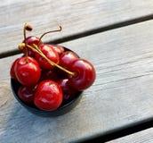 Summer berries. Healty red cherries Royalty Free Stock Image