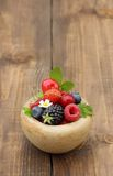 Summer berry fruits Stock Photography