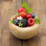 Summer berry fruits Royalty Free Stock Photos