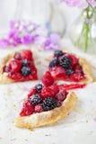Summer berry tart Stock Photography