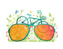 Summer Bicycle Sunglasses Recreation in Nature Stock Photography