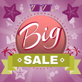 Summer Big Sale Promotion. Royalty Free Stock Photos