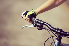Summer bike walk Royalty Free Stock Image