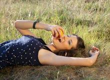 Summer bite Stock Image