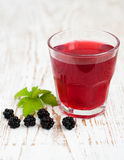 Summer blackberry  drink Royalty Free Stock Image