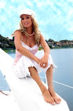 Summer Blond Royalty Free Stock Photo