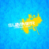 Summer Blue Design Royalty Free Stock Images