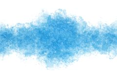 Summer blue ice abstract or vintage watercolor paint background. Clear summer blue ice abstract or vintage watercolor paint background vector illustration