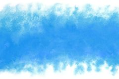 Summer blue ink water wave abstract or vintage watercolor paint background. Summer natural blue ink water wave abstract or vintage watercolor paint background Stock Photos