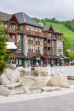 Summer at Blue Mountain Village, Collingwood, Canada Royalty Free Stock Photo