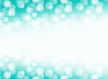 Summer Blue sky bokeh banner and border Royalty Free Stock Image