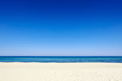 Summer blue sky sea coast sand background beach