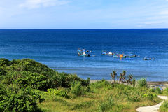 Summer blue sky sea,Taidung,Taiwan. Stock Photography
