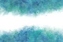 Summer blue water wave abstract or vintage watercolor paint background. Clear summer blue water wave abstract or vintage watercolor paint background vector illustration