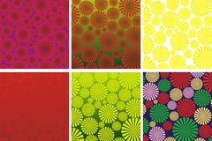 Summer blur pattern Stock Photos