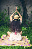 Summer boho girl Stock Photography