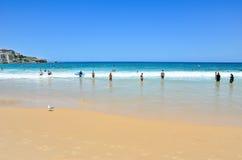 Summer at Bondi Beach Royalty Free Stock Image