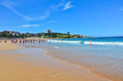 Summer at Bondi Beach Stock Photo