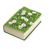 Summer book Stock Photography