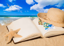 Summer Book Royalty Free Stock Photography