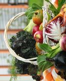 Summer bounty with beets Royalty Free Stock Image