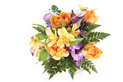 Summer bouquet. A photo of Summer bouquet over white background Stock Photo