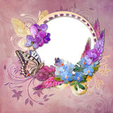 Summer bouquet stock illustration