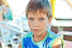 Summer boy Royalty Free Stock Photography