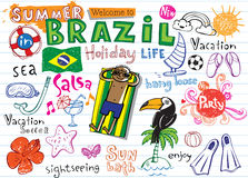 Summer in Brazil Stock Photography