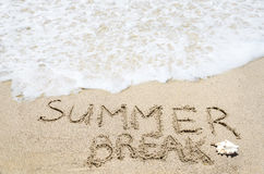 Summer break background Stock Photo