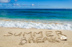 Summer break background Royalty Free Stock Images