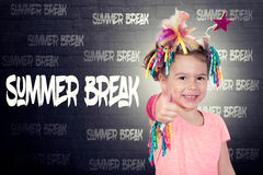 Summer break concept Royalty Free Stock Images