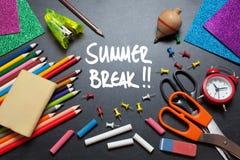 Summer break Royalty Free Stock Images