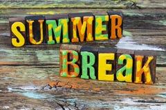 Summer break vacation beach holiday travel school fun
