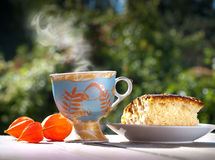 Summer breakfast Royalty Free Stock Images