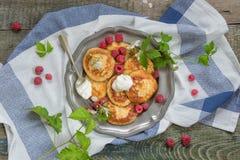Summer breakfast Stock Photo