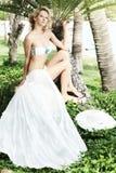 Summer bride Royalty Free Stock Image